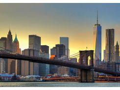 Фотообои 148 Бруклинський мост на закате 366*254 (8ч)