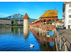 Фотообои 157 Люцерн - Швейцария 366*254 (8ч)