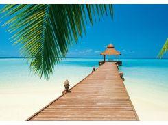 Фотообои 284 Райський пляж 366*254 (8ч)