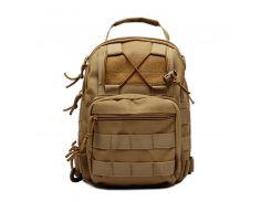 Тактическая военная сумка-рюкзак OXFORD 600D Светло-коричневый (gr006880)