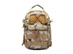 Тактическая военная сумка-рюкзак OXFORD 600D Мультикамуфляжная (gr006882)