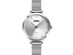 Женские часы Skmei 1457 Серебристые