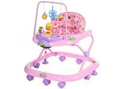 Детские ходунки Bambi JS 322-РС Розовый (intJS 322-РС)