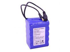 Литий ионный аккумулятор 12 В с ёмкостью 11 А*ч универсальный (YABO-12011000)