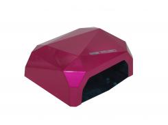 LED+CCFL лампа Diamond 36 Вт Малиновая (1177)