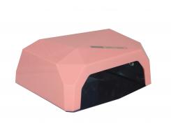 LED+CCFL лампа Diamond 36 Вт Розовая (1244)