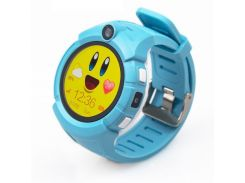 Детские часы с GPS Smart Baby Watch Q360-PLUS Голубые (473)