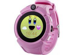 Детские часы с GPS Smart Baby Watch Q360-PLUS Розовый (471)