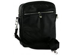 Мужская сумка на плечо Valenta Черная (ВМ-7056)