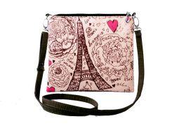 Сумка-клатч с фотопринтом С любовью Париж (383-16511371)