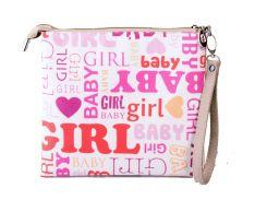 Сумка-клатч с фотопринтом Baby Girl (383-16511362)