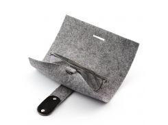Чехол для очков с ремешком Digital Wool Серый (DW-22-01)