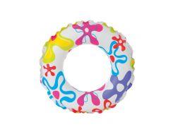 Надувной круг Intex 59241 Пестрые Цветы (int59241_2)