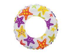 Надувной круг Intex 59241 Пестрые Звезды (int59241_1)
