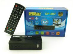 TV тюнер Т2 приемник для цифрового ТВ Operasky DVBТ2 OP-207 USB (par2408003)