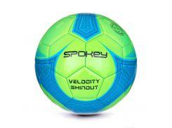 Футбольный мяч Spokey Velocity SHINOUT размер 5 Green-Blue (s0221)