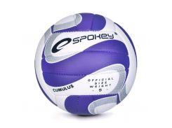 Волейбольный мяч Spokey Cumulus II размер 5 Фиолетово-белый (s0454)