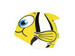 Шапочка для плавания Spokey Rybka для детей Onesize Желтая (s0108)