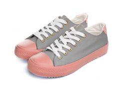 Кеды Женские Keds 38 Grey pink (DC7-618)