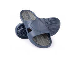 Шлепанцы пляжные мужские Spokey Orbit 42 Темно-синие с серым (s0071)