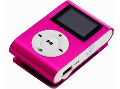 Плеер TOTO TPS-02 With display Earphone Mp3 Pink (52002)