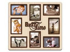 """Фоторамка коллаж """"Best time"""" 51х46 см (H8-005B)"""