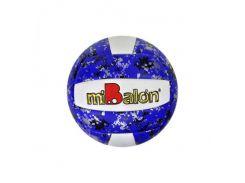 Мяч волейбольный miBalon F21947 21 см Синий (50210)