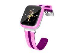 Детские часы-телефон с GPS WONLEX Q100S Pink