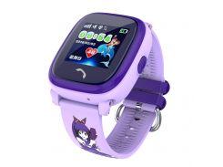 Детские часы-телефон с GPS WONLEX Q300 Aqua Pink