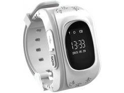 Детские часы-телефон с GPS WONLEX Q50 White