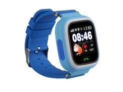 Детские часы-телефон с GPS WONLEX Q90S Blue