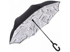 Зонт обратного сложения Up-Brella Journal White