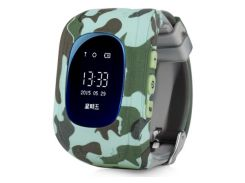 Смарт-часы Smart Baby Q50 Хаки (nri-2208)