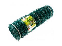 Сетка декоративная Клевер - 1.0 x 20 м (50 x 50 мм) Темно-зеленый (Д-50/1,0/20тз)