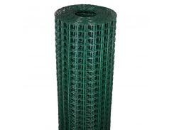 Сетка декоративная Клевер - 1.0 x 20 м (20 x 20 мм) Темно-зеленый (Д-20/1.0/20тз)