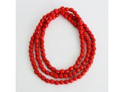 Деревянное тройное ожерелье Руди Украиночка (40156)