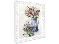 Декупаж на холсте Полевые цветы 94706 (49007)