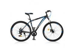 "Велосипед 29"" Profi EB29SUPREME1.0 A29.1 Черно-голубой (intEB29SUPREME1.0 A29.1)"