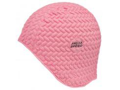 Шапочка для плавания Aqua Speed Bombastic Tic-Tac Розовая (as007)