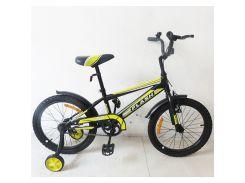велосипед tilly flash 18 t-21843 черный (21-t-21843)