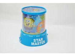 Проектор звездного неба Star Master Spanch Bob Blue (gr006478)