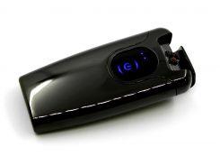 Электроимпульсная USB-зажигалка HF-11 Черная (200483)