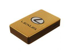 Электроимпульсная USB зажигалка LEX1 Золотистая (6842955512)