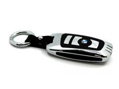 Электроимпульсная USB зажигалка-брелок BMW Серый с черным (200484)