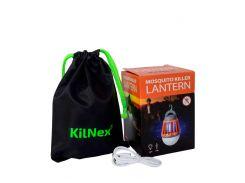 Фонарь для кемпинга KILNEX USB 2000 mAh с функцией уничтожения комаров Зеленый (KL 100)