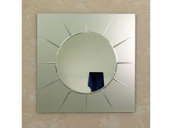 Зеркало настенное Solaris Sunrize Quadro Satin 92х92 см (SsQ920)