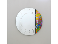 Зеркало настенное Sunset Rondo Clear 920 мм (SUcR920)