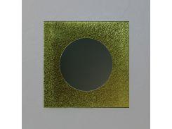 Зеркало настенное Ice Quadro Yellow 75 х 75 см (IyQ750)