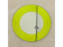 Зеркало настенное круглое Aqua Rondo Yellow 570 мм (AyR570)