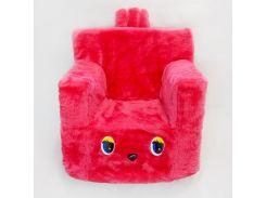 Детский стульчик кресло Kronos Toys Малиновый (zol_217-7)